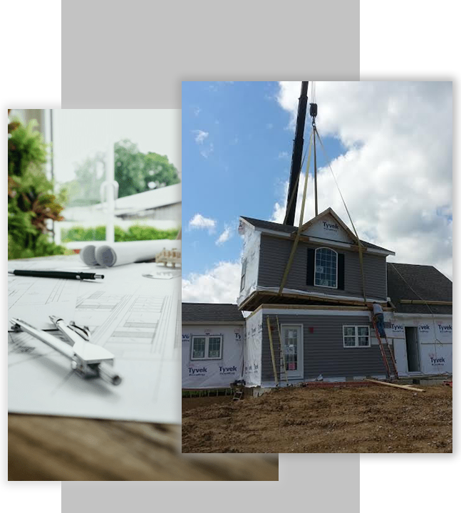 home-construction-row